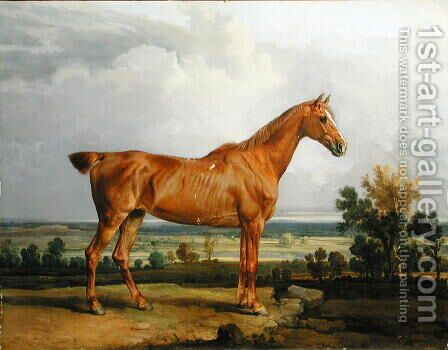 Hunter in a Landscape, 1810 by James Ward - Reproduction Oil Painting