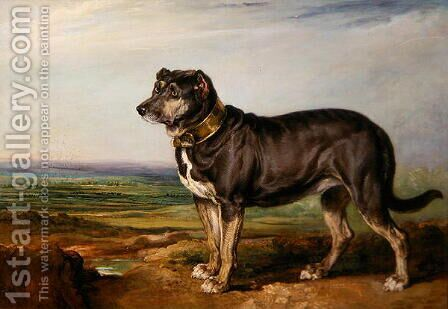 Portrait of Vic, a Spanish Bloodhound, c.1818-20 by James Ward - Reproduction Oil Painting