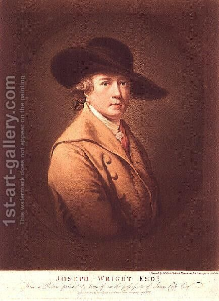 Joseph Wright of Derby by James Ward (1769-1859), 1807 by James Ward - Reproduction Oil Painting