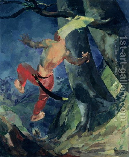 Absalom by Albert Weisgerber - Reproduction Oil Painting