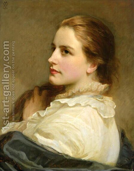 Alice, 1877 by Henry Tanworth Wells - Reproduction Oil Painting