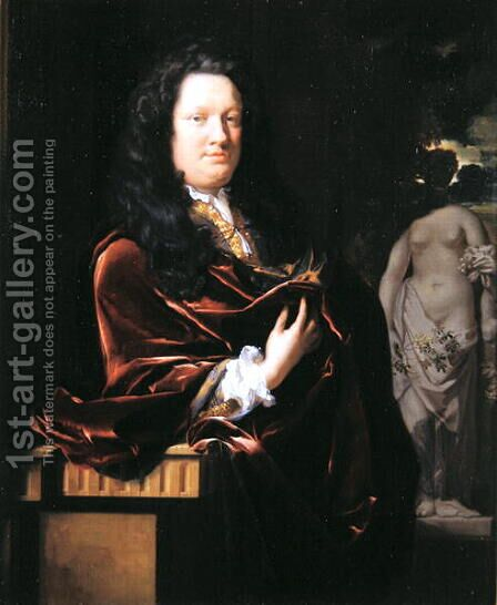 Portrait of a Gentleman, 1694 by Adriaen Van Der Werff - Reproduction Oil Painting