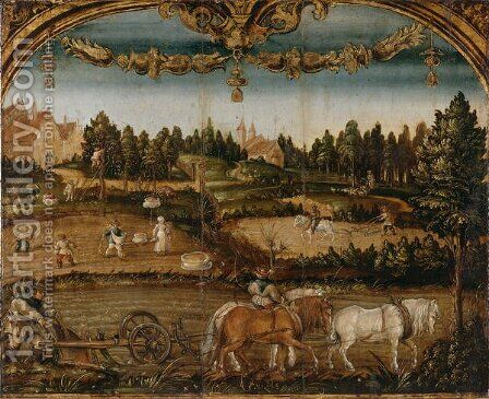 The Month of September, c.1525-26 by Hans Wertinger - Reproduction Oil Painting