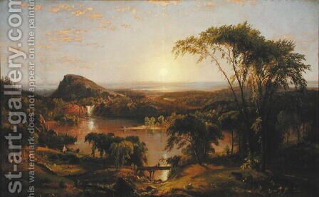 Summer, Lake Ontario, 1857 by Jasper Francis Cropsey - Reproduction Oil Painting