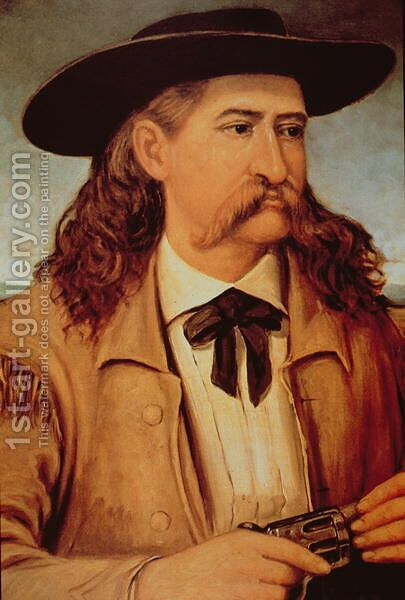 James Butler 'Wild Bill' Hickok (1837-76) 1874 by Henry H. Cross - Reproduction Oil Painting