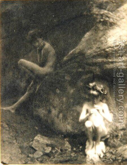 The Faun, 1907 by Clarence Henry White - Reproduction Oil Painting