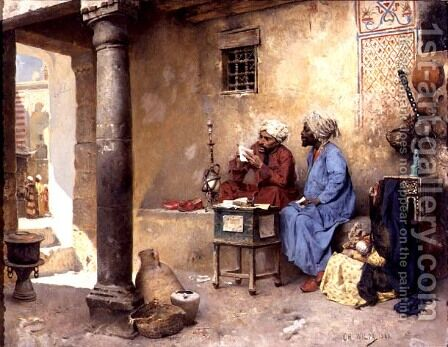 The Scribe, 1886 by Charles Wilda - Reproduction Oil Painting