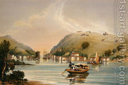 Passages, Lord John Hays Position, 1838 by Henry Wilkinson - Reproduction Oil Painting