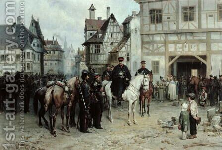 Willewalde, Bogdan (1818-1903) by Bogdan Willewalde - Reproduction Oil Painting