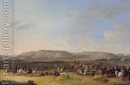 The Capture of Shumla, 1860 by Bogdan Willewalde - Reproduction Oil Painting