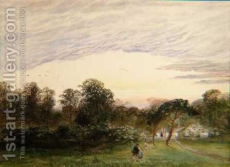 In Bannisters Wood, Southampton by Charles Frederick Williams - Reproduction Oil Painting