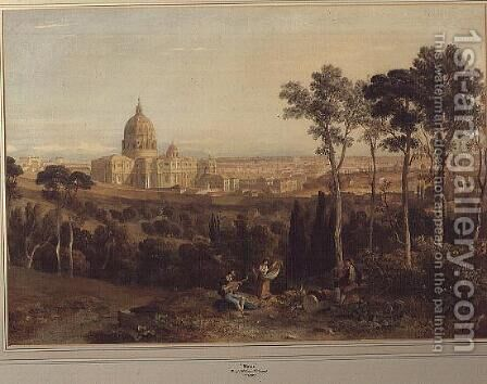 Rome by Hugh William Williams - Reproduction Oil Painting