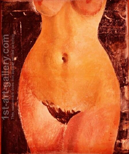 Nude by Christopher Wood - Reproduction Oil Painting