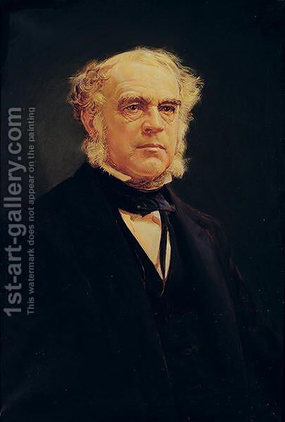 John William Draper (1811-82) M.D., 1941 by Charles Lennox Wright - Reproduction Oil Painting