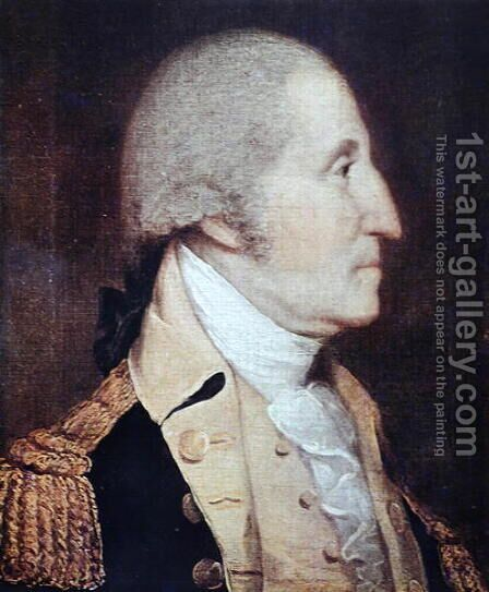 George Washington (1732-99) by (after) Wright, Joseph - Reproduction Oil Painting