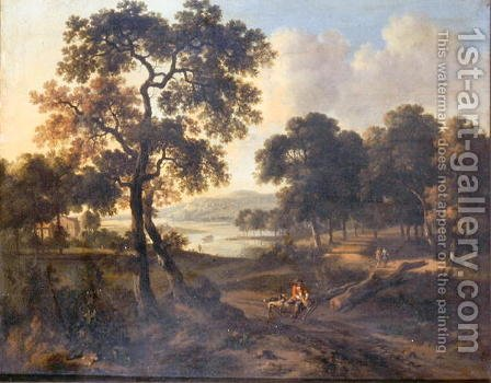Landscape by Jan Wynants - Reproduction Oil Painting