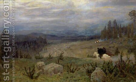 Siberia, 1894 by Apollinari Mikhailovich Vasnetsov - Reproduction Oil Painting