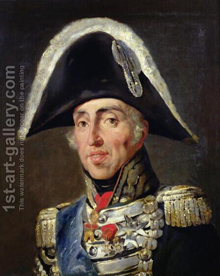 Portrait of Charles X 1757-1836 King of France and Navarre by Horace Vernet - Reproduction Oil Painting