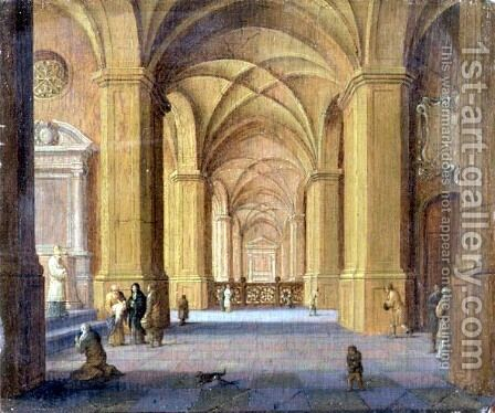 The Presentation in the Temple by Jan van Vucht - Reproduction Oil Painting