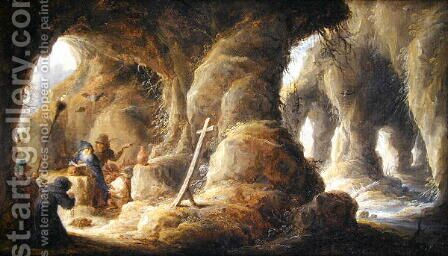 The Temptation of St. Anthony 2 by David The Younger Teniers - Reproduction Oil Painting