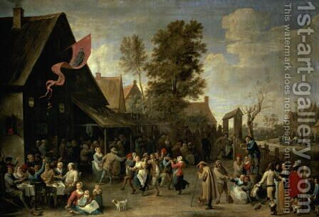 The Consecration of a Village Church, c.1650 by David The Younger Teniers - Reproduction Oil Painting