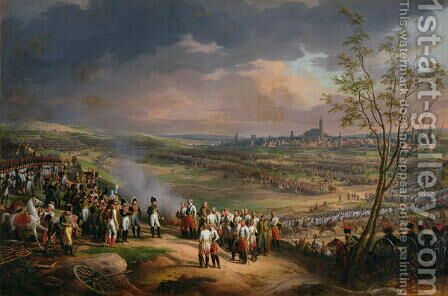 The Surrender of Ulm, 20th October 1805, 1815 by Charles Thevenin - Reproduction Oil Painting