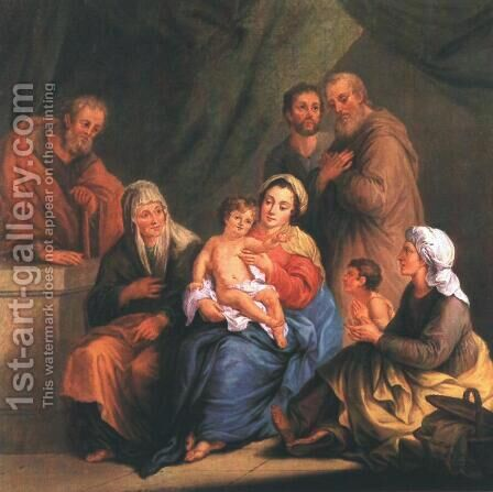 Szent család, 1808 by Janos Donat - Reproduction Oil Painting