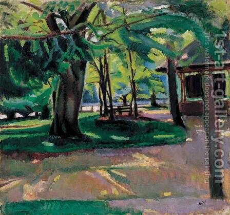 Park, 1912 by Andor Eros - Reproduction Oil Painting