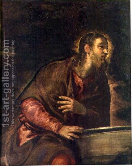 Christ at the Well, c.1560 by Jacopo Tintoretto (Robusti) - Reproduction Oil Painting