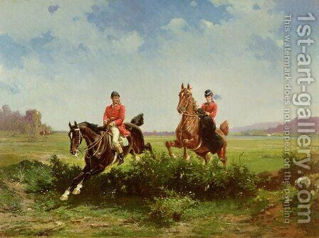 Over the Fence by Alfredo Tominz - Reproduction Oil Painting