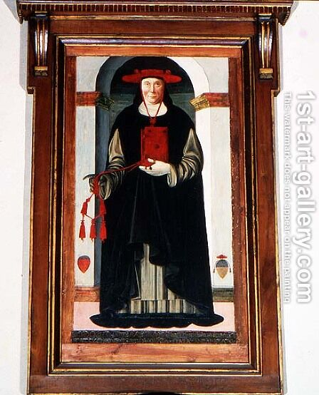 Cardinal Niccolo of Prato, papal legate, 1509 by di Piero Tommaso - Reproduction Oil Painting