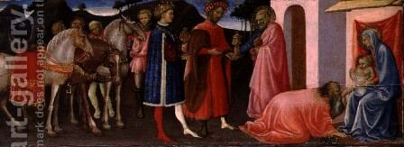 The Adoration of the Magi, c.1420-30 by Giovanni Francesco - Reproduction Oil Painting