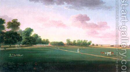 A View of Hyde Park by Daniel Turner - Reproduction Oil Painting