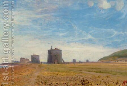 Martello Towers by James Sant - Reproduction Oil Painting