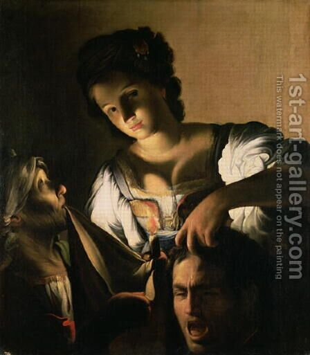 Judith with the head of Holofernes, 1615 by Carlo Saraceni - Reproduction Oil Painting