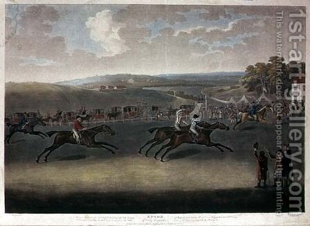 Derby Sweepstake, 1791-2 by J. Francis Sartorius - Reproduction Oil Painting