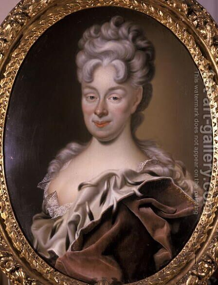 Magdalene Sybille, Duchess of Sachsen-Eisenach, 1708 by Christian Schilbach - Reproduction Oil Painting