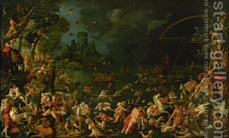 The Flood, 1515 by Jan Van Scorel - Reproduction Oil Painting