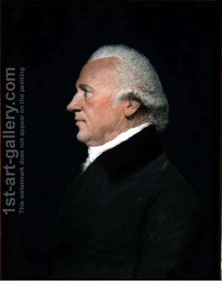 Sir William Herschel, c.1805 by James Sharples - Reproduction Oil Painting