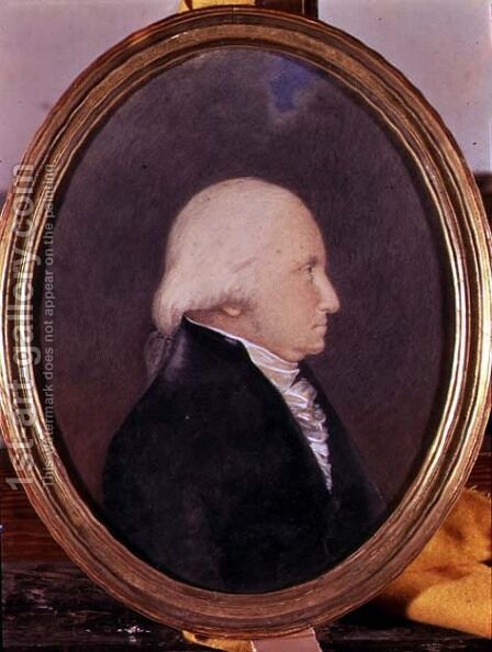 Portrait of George Washington by James Sharples - Reproduction Oil Painting