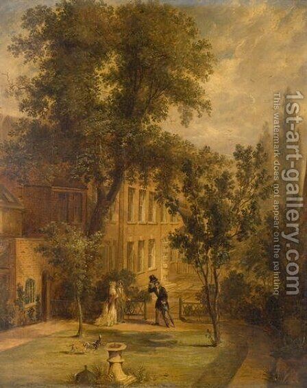 Abel Chetwynds Gift by Benjamin Shipham - Reproduction Oil Painting