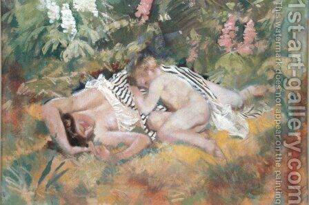 Summer by Charles Sims - Reproduction Oil Painting