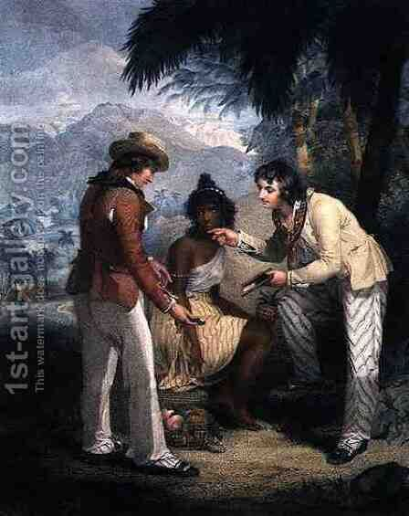 Scarcity in India, engraved and pub. by Charles Knight 1743-c.1826, 1794 by Henry Singleton - Reproduction Oil Painting