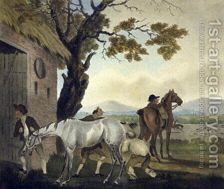 The Trick, from The Pytchley Hunt, engraved by F. Jukes 1745-1812, 1790 by Charles Lorraine Smith - Reproduction Oil Painting