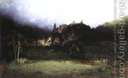 Environment of Szinyei-Lipocz 1873 by Gyula Gundelfinger - Reproduction Oil Painting