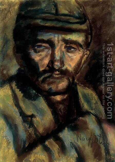 Soldier by Istvan Nagy - Reproduction Oil Painting