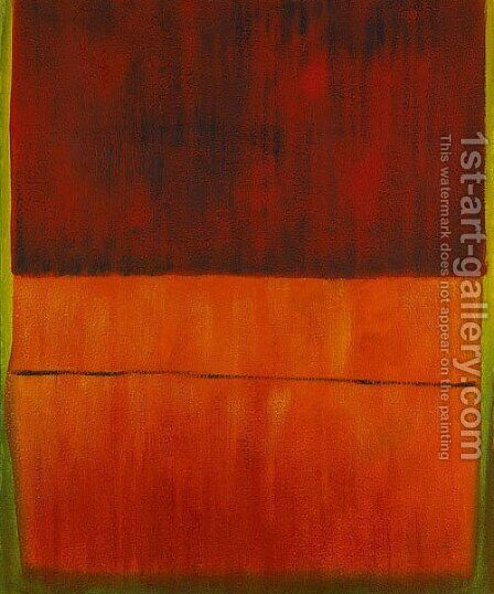Untitled, 1959 by Mark Rothko (inspired by) - Reproduction Oil Painting