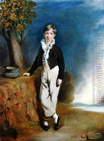 Lord Bernard Fitzalan Howard, c.1836 by H. Smith - Reproduction Oil Painting