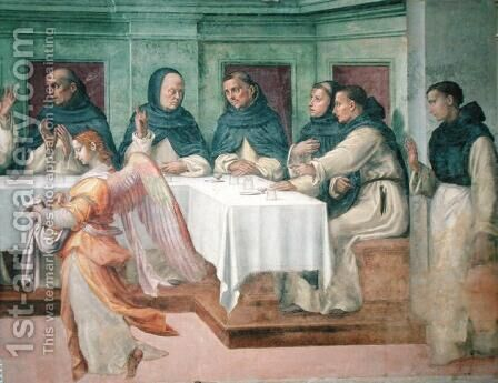 The Last Supper, from the San Marco Refectory by Bartolommeo Sogliani - Reproduction Oil Painting