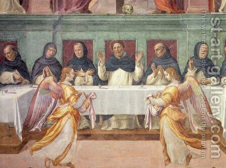 The Last Supper, from the San Marco Refectory 3 by Bartolommeo Sogliani - Reproduction Oil Painting